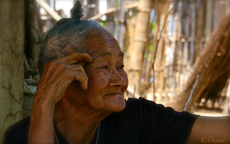 Old woman, Hagiang Province