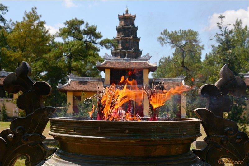 Thien Mu Pagoda. Hué.