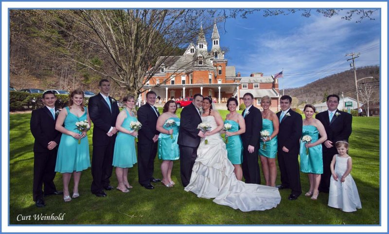 Russell-Gledhill Wedding Party