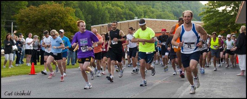 Gods Country Marathon start