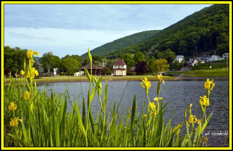 Berger Lake;  Galeton, Pa.
