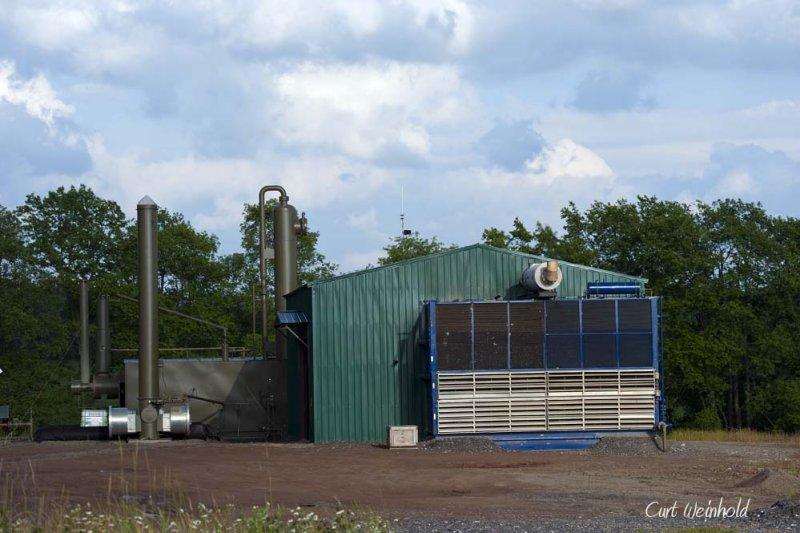 Compressor station.