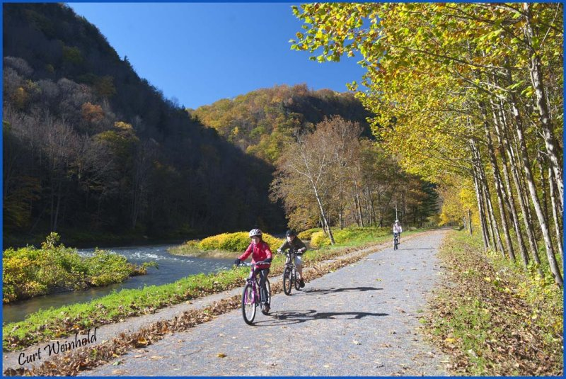 Bicycling the Pine Creek RailTrail