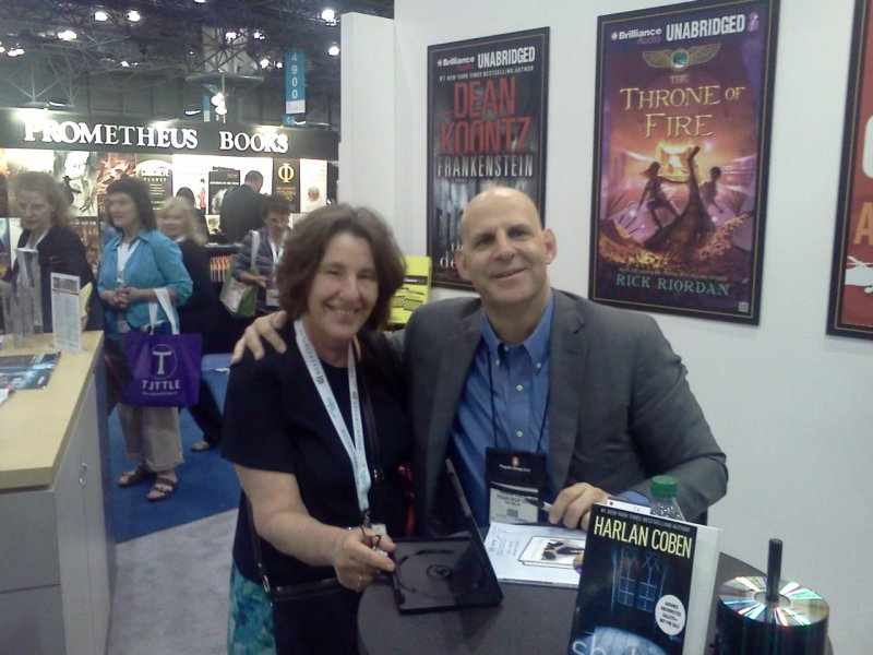 Donna with Harlan Coben
