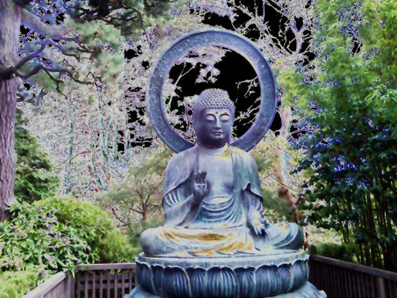 Buddha at Golden Gate Park