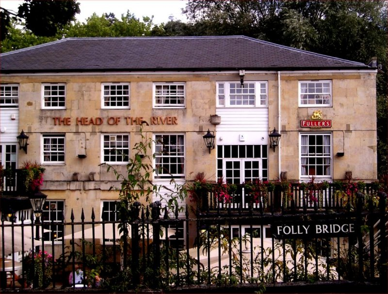 A pleasant Oxford pub