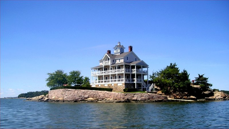 Haunted house of the Thimble Islands