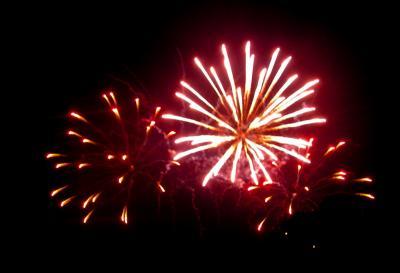 Fireworks at Eisenhower Park