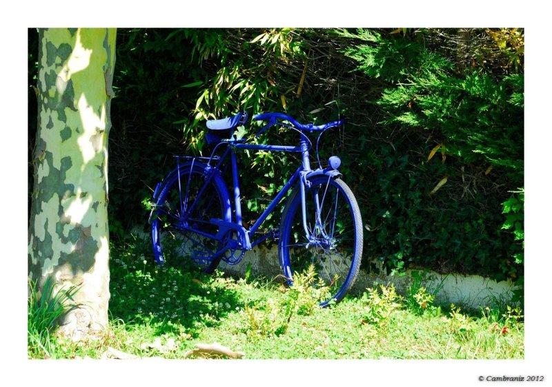 La bicyclette bleue...