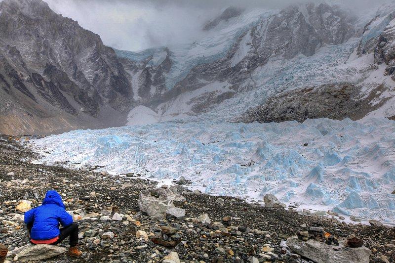 Khumbu Glacier and Ice Fall