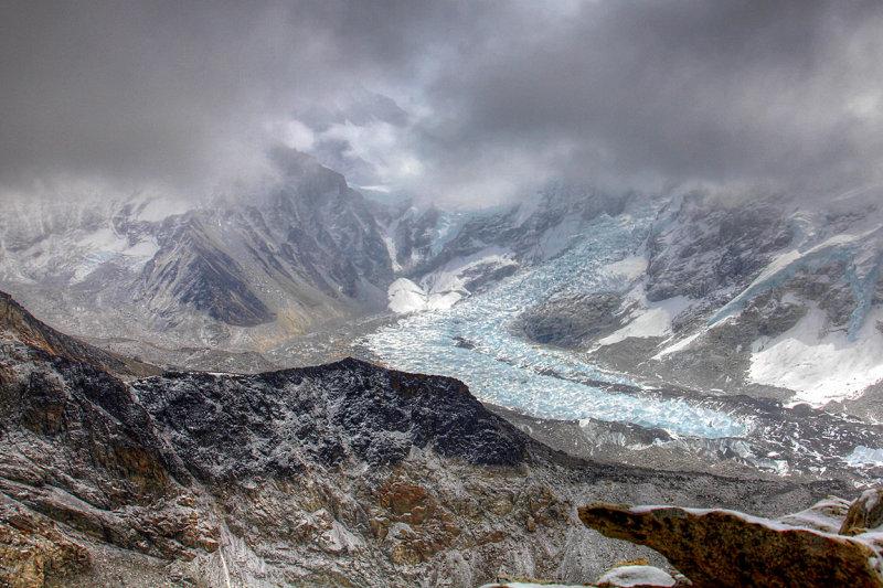 Khumbu Glacier from Kala Patthar