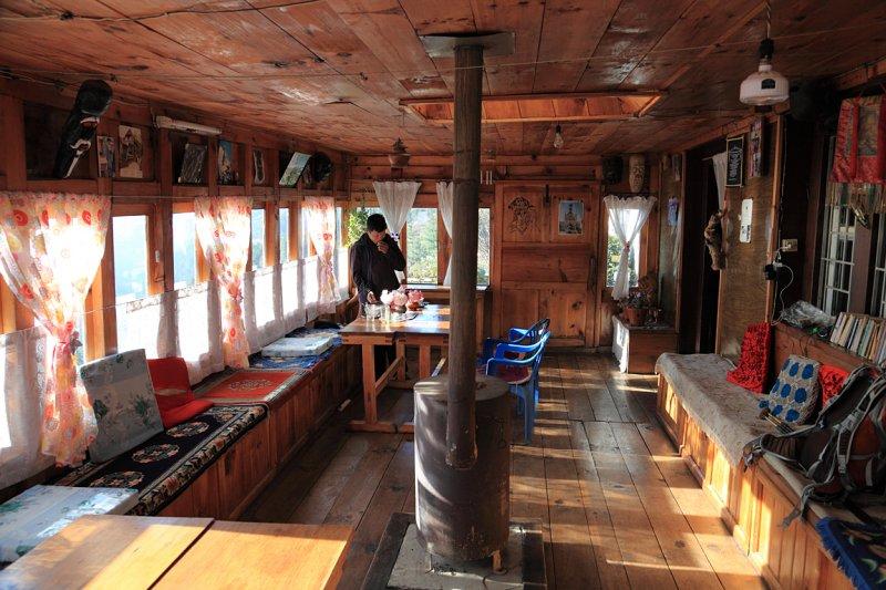 Lodge at Jumbesi