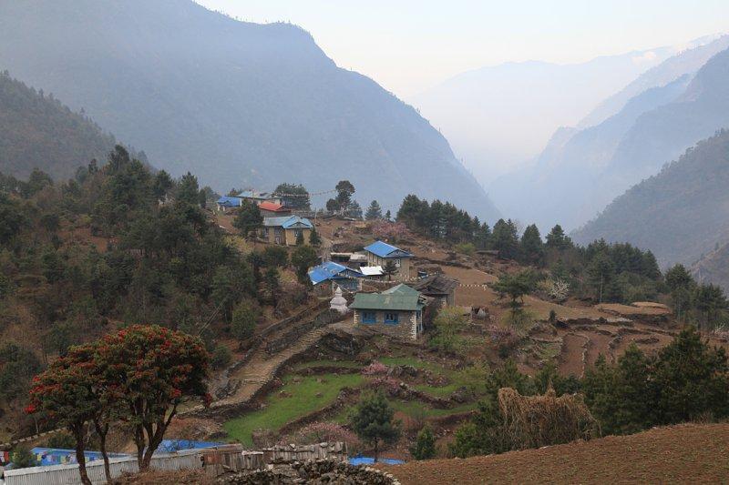 View south frm Chaurikharka