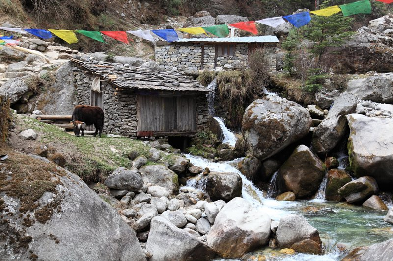 Watermills near Monjo