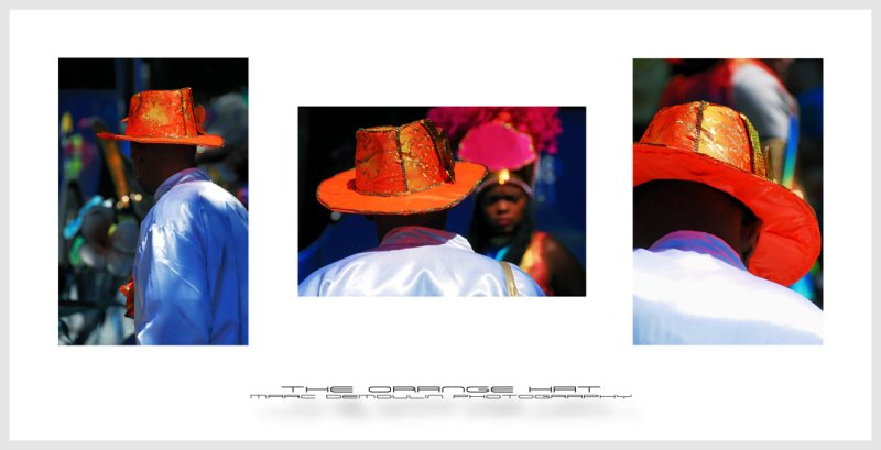 The orange hat