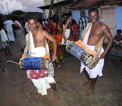 Musicians at Mulaipari festival at Koovathupatti Tamil Nadu. http://www.blurb.com/books/3782738