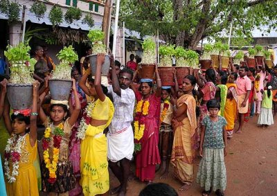 Mulaipari festival at Koovathupatti, Tamil Nadu. The beginning of the procession. http://www.blurb.com/books/3782738