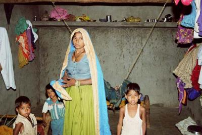 Real life Mother Mary, Madhya Pradesh, India
