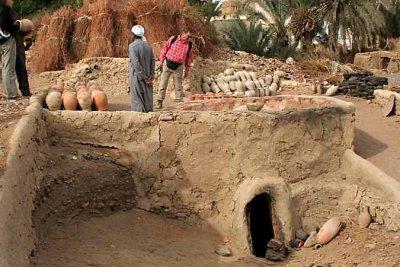 Pottery in Al Qasr