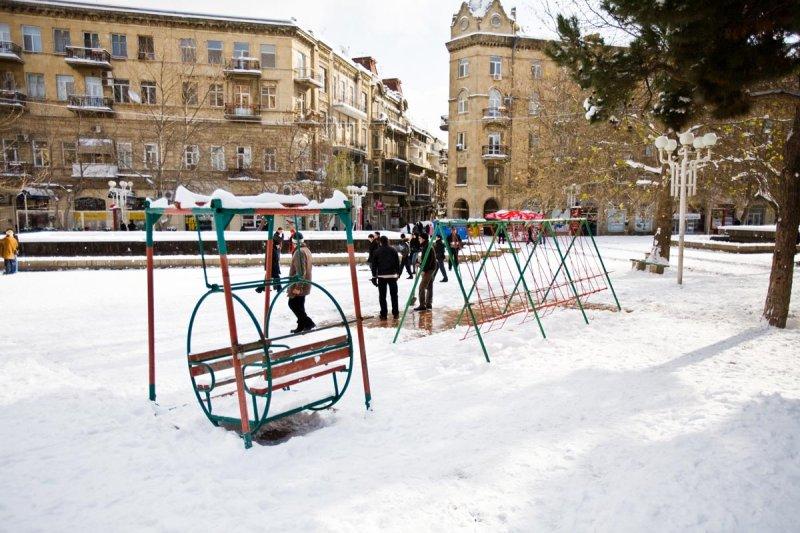 Fountain Square Swings