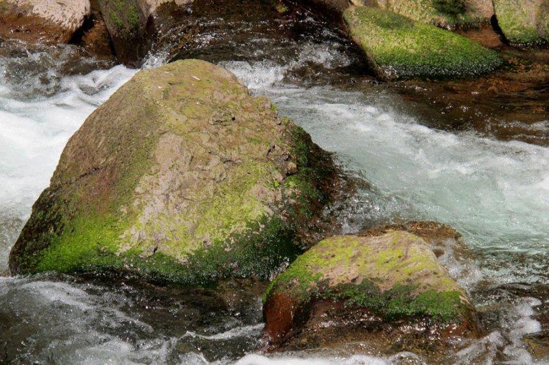 colorful boulders