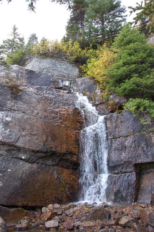 Water Falls near tea House