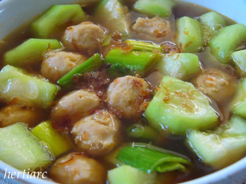 Sup Oyong Udang