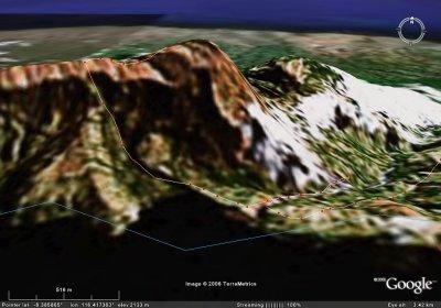 Google Map -   Rinjani