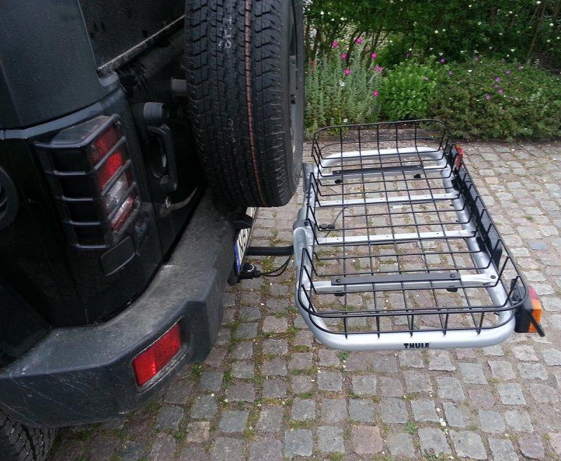 Thule easybase and basket