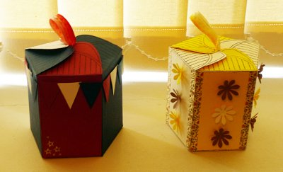 Five sided boxes