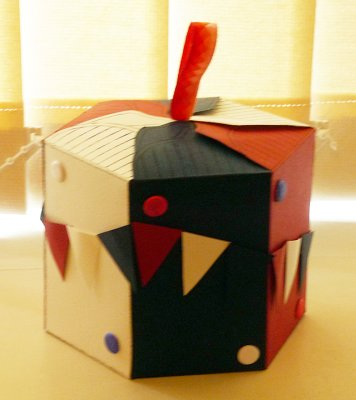Six sided Jubilee box