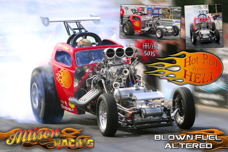 Mike Allison Hot Rod From Hell AA/FA
