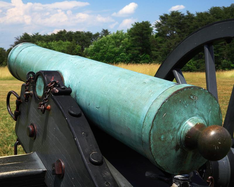 Canon--Manassas Battlefield