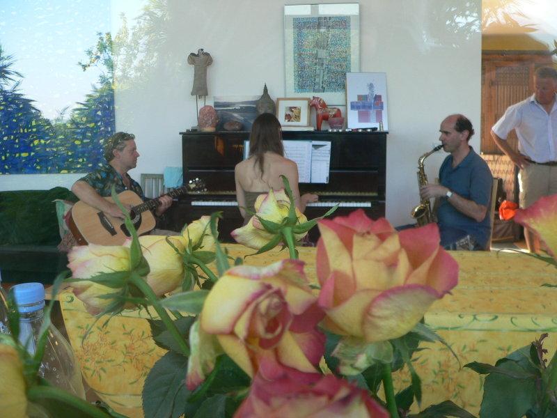 Musik med Thomas, Raphaëlle och Christophe