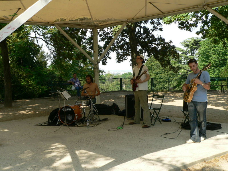 Jazz i Parc des Buttes Chaumont
