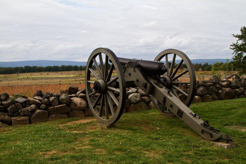 Gettysburg, Union Center, July 3, 1863