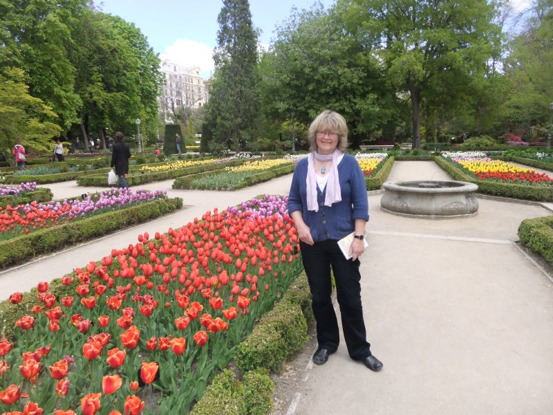 Tulips in Real Jardin Botanico