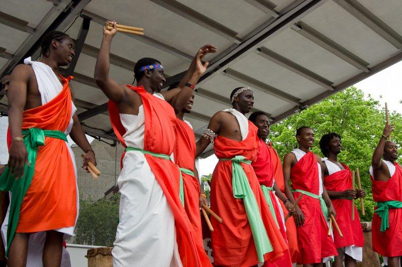 Burundian Messenger Sacred Drums