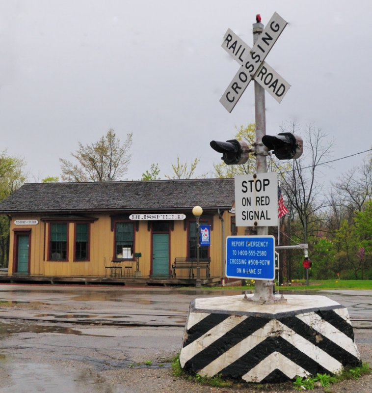 Blissfield MI depot