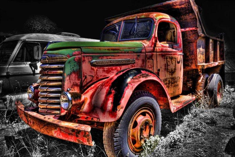 Old 49 GM Dumptruck