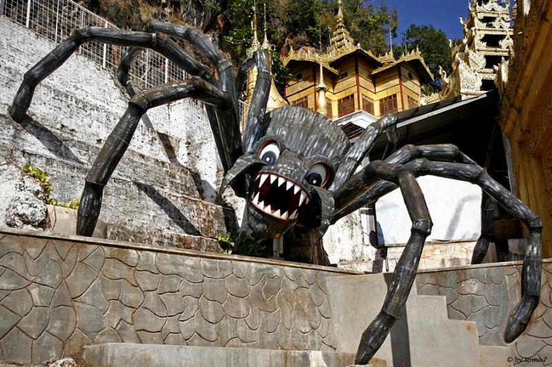 Entrance Pindaya Cave