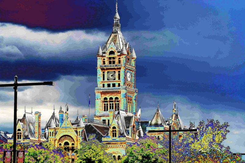 Salt Lake City, City Hall.