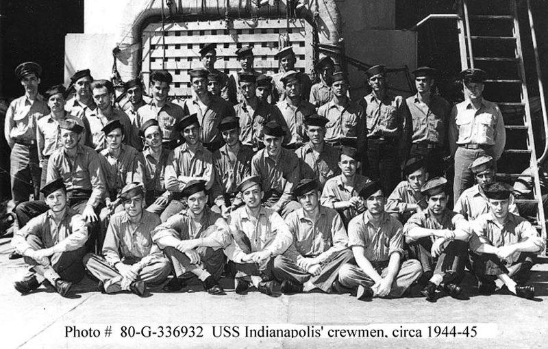 Some of the USS Indianapolis Crewmen