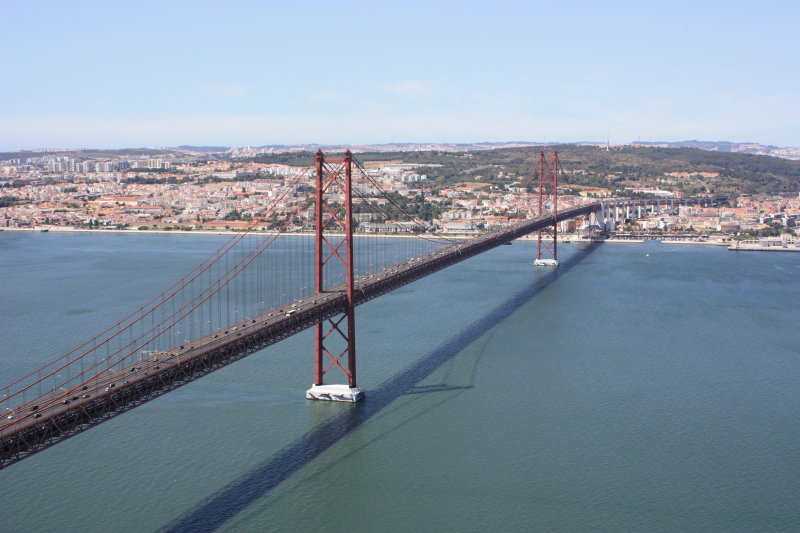 Ponte 25 de Abril from Cristo Rei, Almada