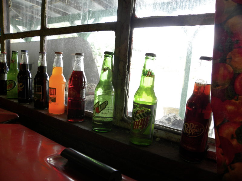 Window with Bottles