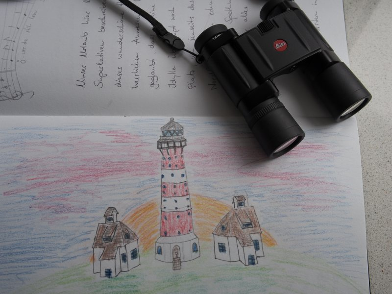 Drawing by Henry Herrmann Age 9