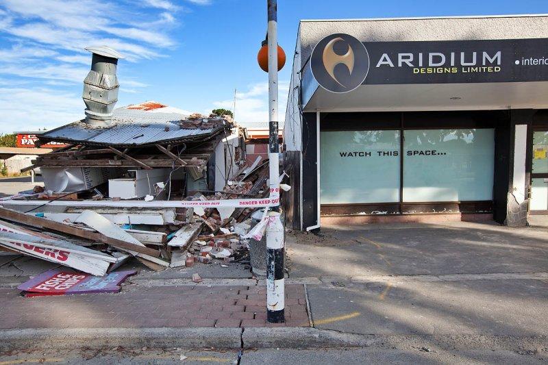 Christchurch Earthquake Damage
