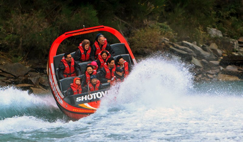 The Shotover Jet Boat Experience