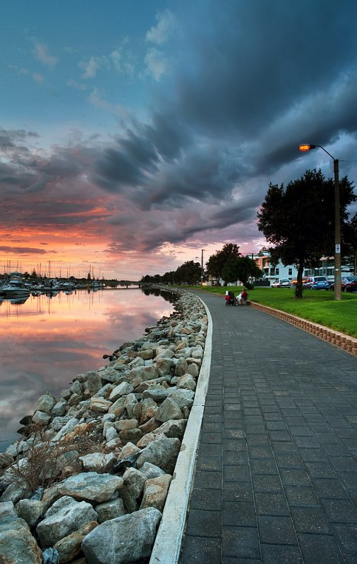 Patawalonga Marina Sunset