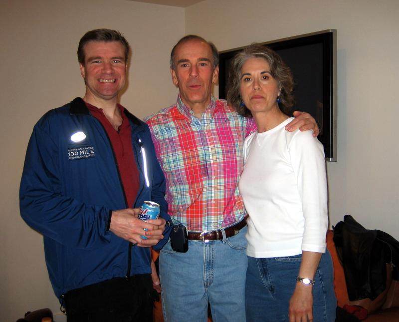 David, Dave Remington, and Helen